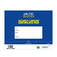 Gas Safety Certificate Pad