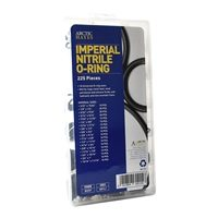 Imperial Nitrile O-Ring Assortment Washer Kit (225 Pieces)