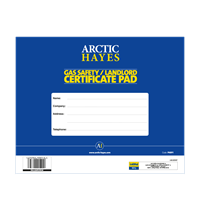 Gas Safety / Landlord Certificate Pad